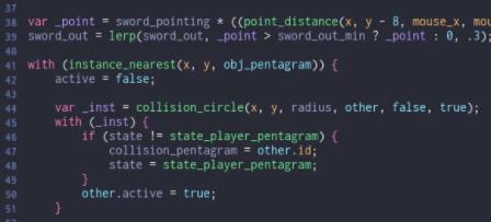 Scripting in Gamemaker 2